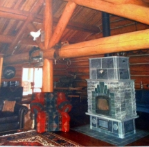 log-home-fire-place