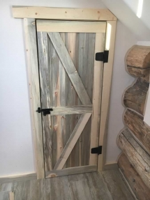 rustic-wood-board-door